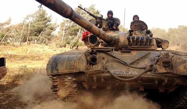 ARN0012004001511225_Tentara_Suriah_Bebaskan_100_Desa_dari_Cengkraman_ISIS