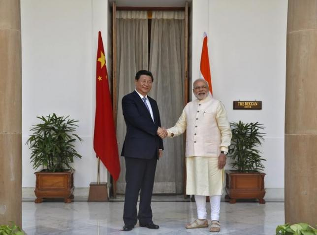 PM India dan Presiden China Xi Jinping
