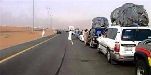 Gelombang pengungsi saudi setelah yaman tembakkan rudal scud