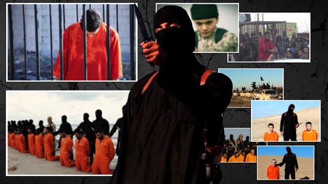 Gambar dari beberapa tayangan video kejahatan ISIS