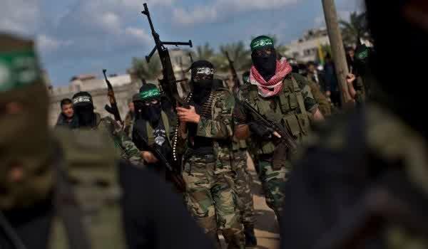 ARN0012004001511294_Bentrokan_Hebat_Antara_Hamas_Dan_ISIS_DI_Jalur_Gaza