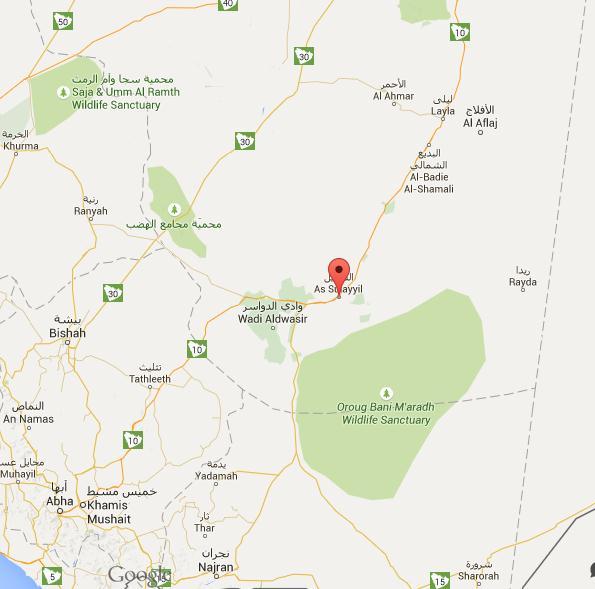ARN001200400151131219_Rudal_Yaman_Hantam_Pangkalan_Militer_Saudi_Di_As Sulayyil_Propvinsi_Riyadh