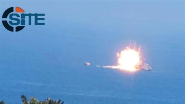 Kapal_Angkatan_Laut_Mesir_Dihantam_Rudal