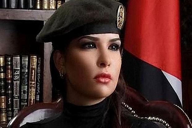 Miss_Yordania_Ikut_Perangi_ISIS