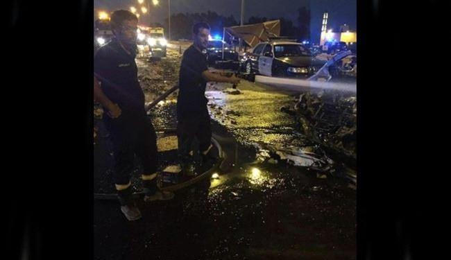 تفجير سيارة عند إحدى نقاط التفتيش بالرياض ومقتل قائدها