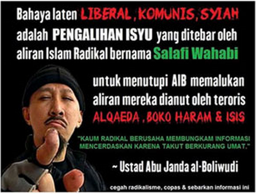 Abu Janda Bahas Teroris