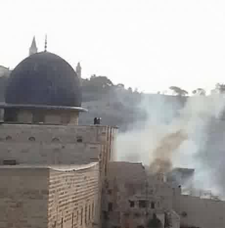 Masjid Al-Aqsha dibakar