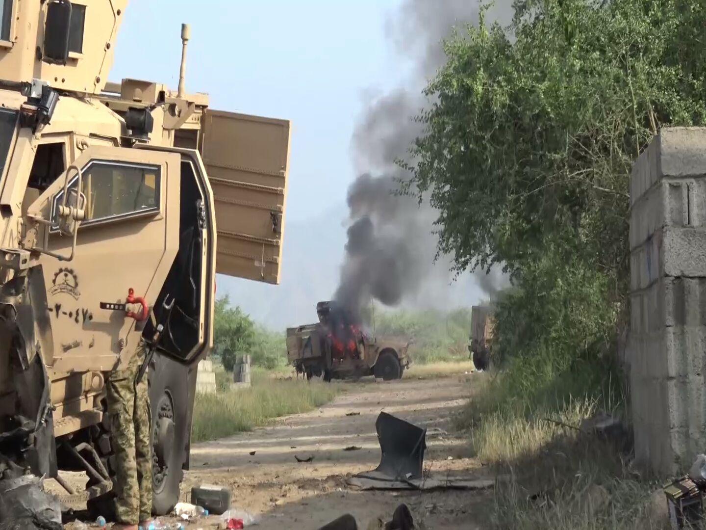 Kendaraan-Militer-Saudi-Hancur-Dekat-Perbatasan