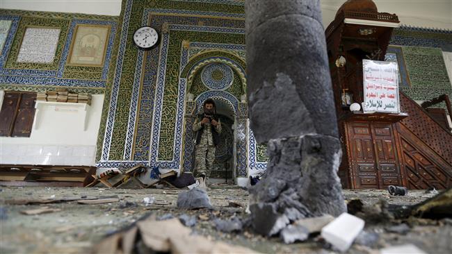 Ledakan bom di Masjid al-Balili