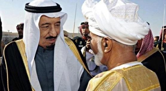 Pertemuan Salman Dengan Raja Oman