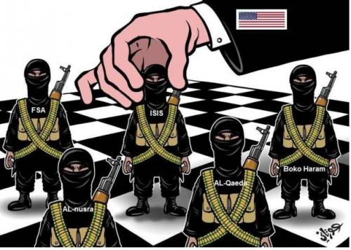 Zionis-Amerika dibalik Perang Suriah
