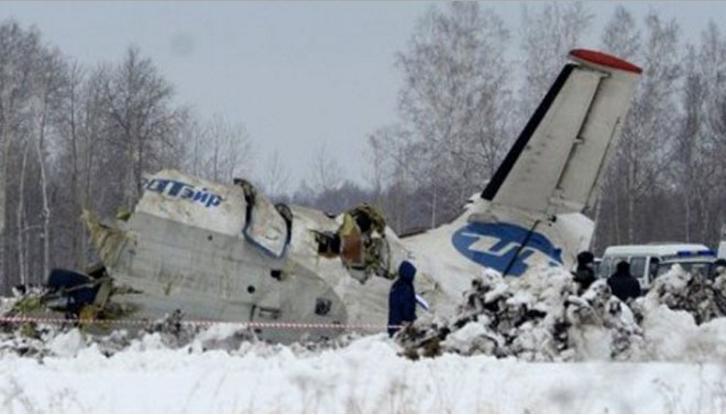 Pesawat Rusia Jatuh