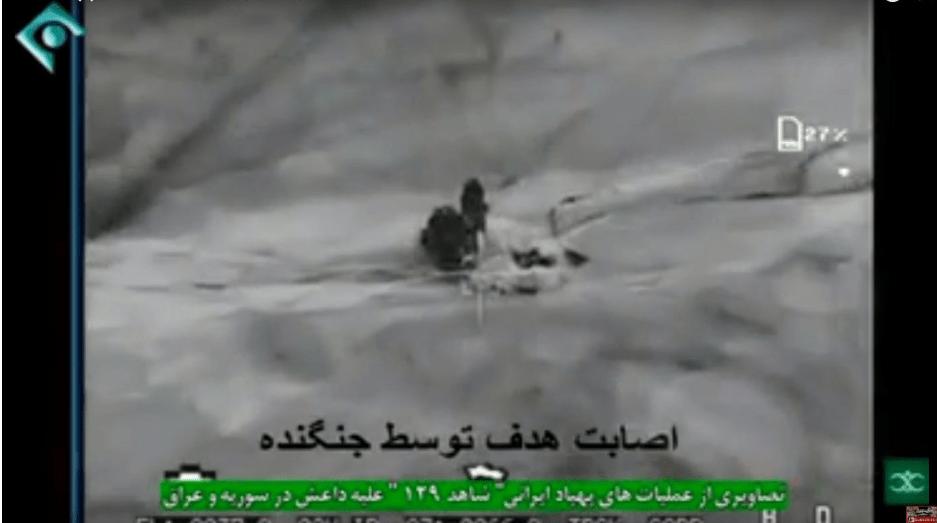 Video Operasi Drone Iran di Suriah, Irak