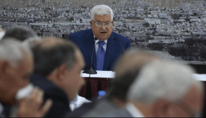 Mahmoud Abbas, Palestina