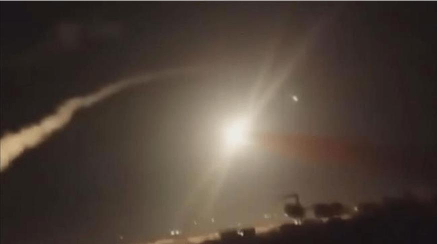 Rudal Israel serang Suriah