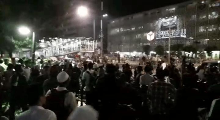 Demo Ricuh di Bawaslu RI