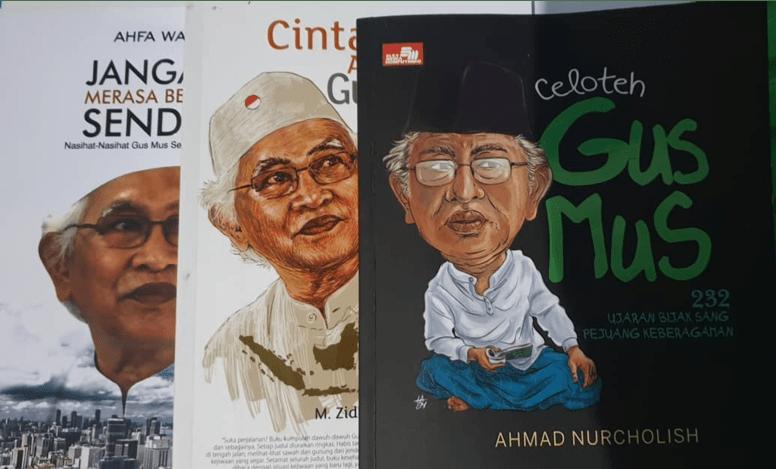 Cover Buku 'Gus Mus'