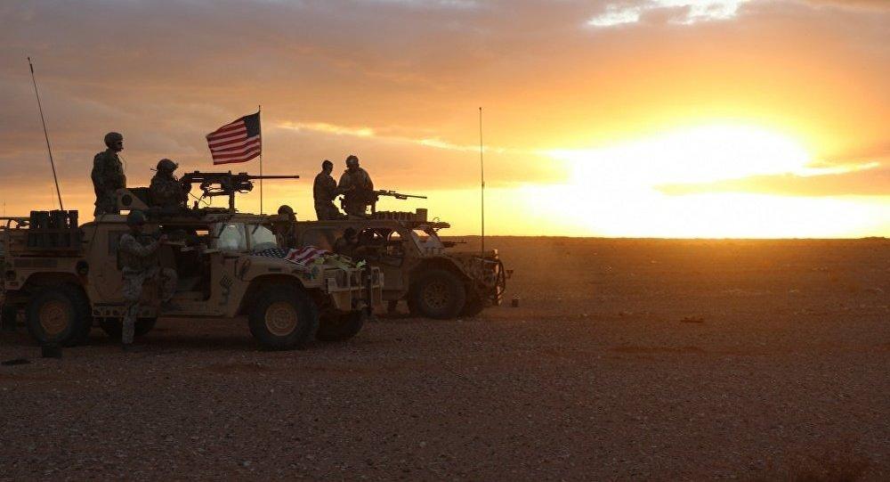 Militer AS di Suriah