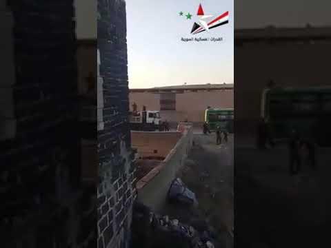 Konvoi Tentara Suriah ke Selatan Idlib