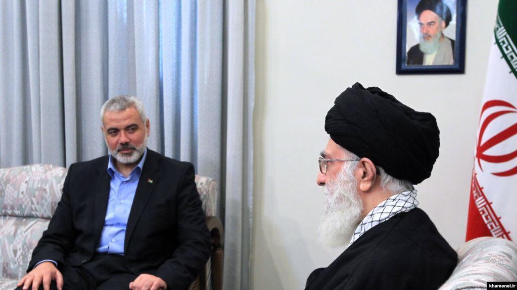 Pemipin Hamas dan Ayatullah Ali Khamanei
