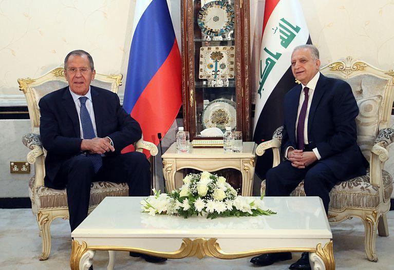 Menlu Rusiam Irak, Baghdad