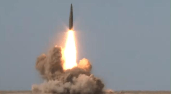 Kemenhan Rusia Rilis Video Peluncuran Rudal Balistik Iskander