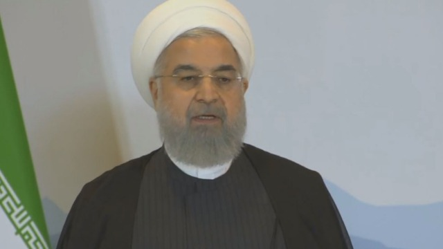 Signal perang! Rouhani: Pasukan AS dan Uni Eropa di Timur Tengah dalam Bahaya