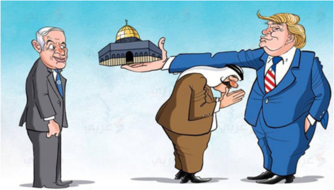 Yeni Safak: Hari ini Saudi-UEA Jual Yerusalem ke Israel, Besok Mekkah dan Madinah