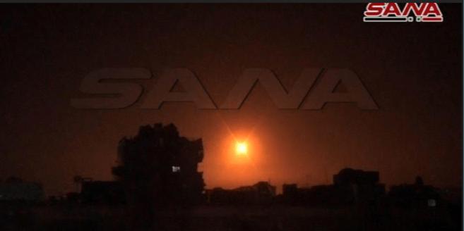 Ledakan Terjadi di Barat Daya Damaskus, Diduga Serangan Israel