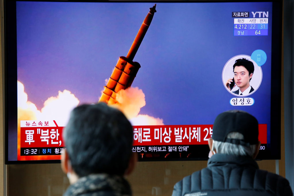 Keempat Kalinya dalam Sebulan, Korea Utara Kembali Uji Coba RudalKeempat Kalinya dalam Sebulan, Korea Utara Kembali Uji Coba Rudal
