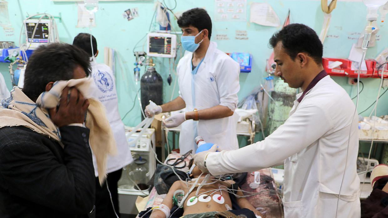 Sistem Kesehatan Yaman Hancur, Inggris Terus Bantu Saudi Bombardir Sana'a