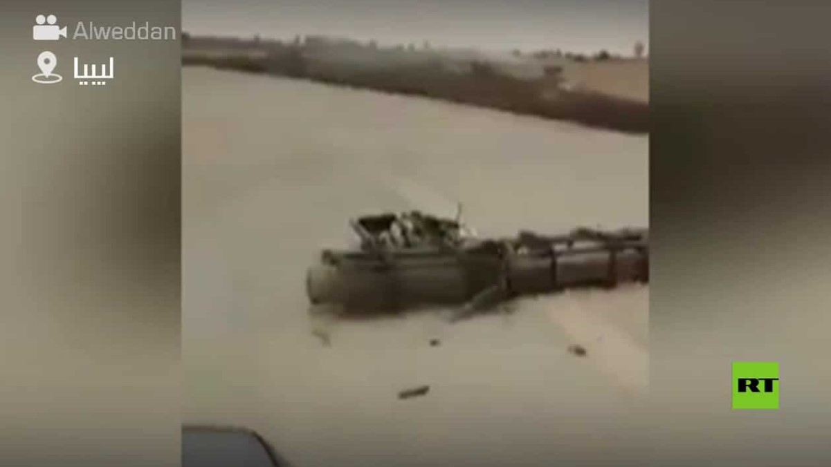Militan Dukungan Turki Rebut Al-Watiyah Airbase di Barat Libya: VIDEO