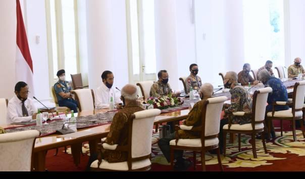 Tolak RUU HIP, Jokowi: PKI dan Seluruh Ajarannya Dilarang