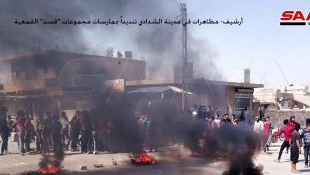 Teroris SDF Dukungan AS Rekrut Paksa Warga di Timur Laut Suriah