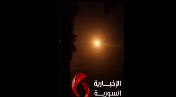 Video Perang Rudal Israel-Suriah di Langit