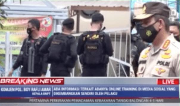 Polisi Tangkap Beberapa Orang Diduga Kuat Bantu Pelaku Bom Gereja Makassar