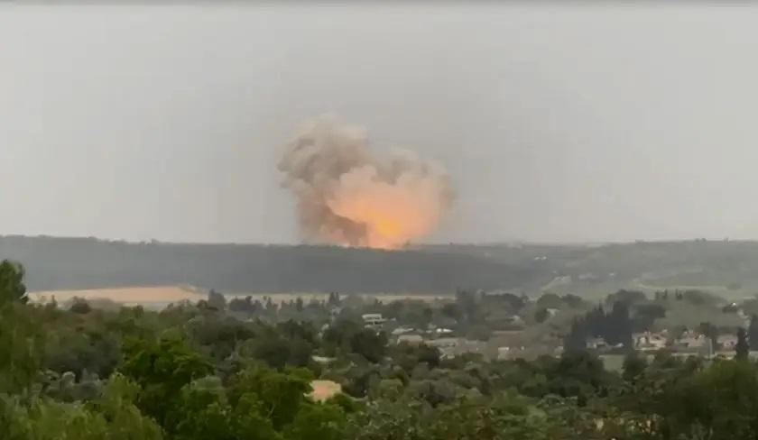 Ledakan Dahsyat di Pabrik Produksi Rudal Israel
