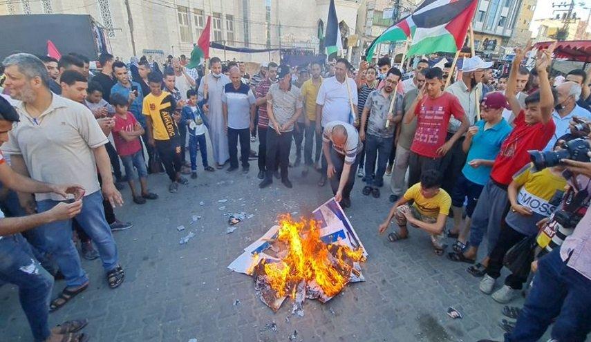 Ratusan Ribu Warga Palestina Gelar Demo Kecam Pawai Bendera Israel di Yerusalem