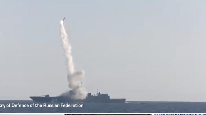 Rusia Sukse Uji Coba Rudal Hipersonik Tsirkon dari Kapal Fregat