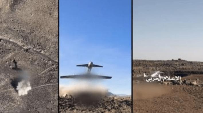 Video Puluhan Drone Yaman Hujani Pangkalan Militer Koalisi Saudi