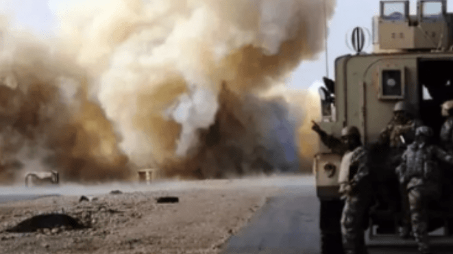 Dua Konvoi Logistik Militer AS Diserang di Babil dan Baghdad, Irak