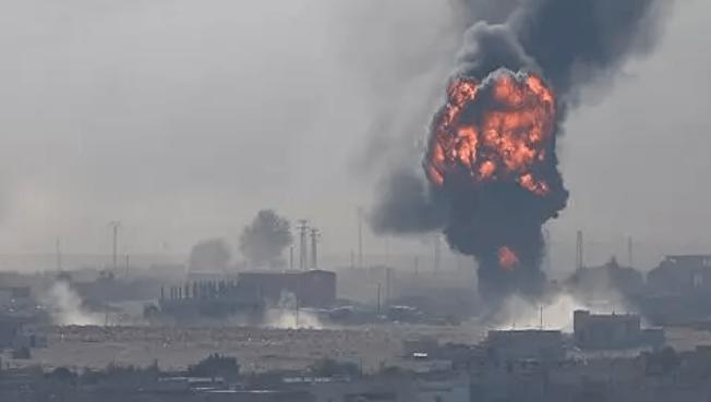 Terjadi Ledakan Mengerikan di Perbatasan Suriah