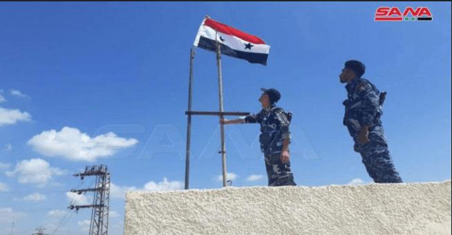 Tentara Suriah Kibarkan Bendera Nasional di Kota-kota yang Dikuasai ISIS